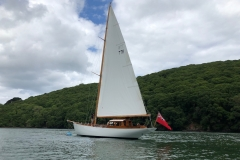 Classic Boat Project - main sail