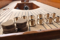 Classic Boat Project - stanchions