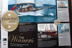 Classic Boat magazine winner