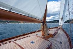 Heron II Under Sail 6