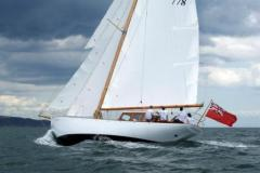 Heron II Under Sail 2