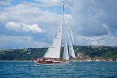 Heron II Under Sail 1