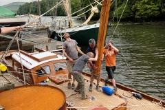 Classic Boat Project - mast
