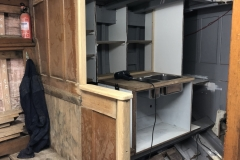 Classic Boat Project - galley rebuild