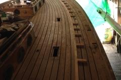 Classic Boat Project - deck